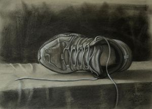 Running Shoes Still life