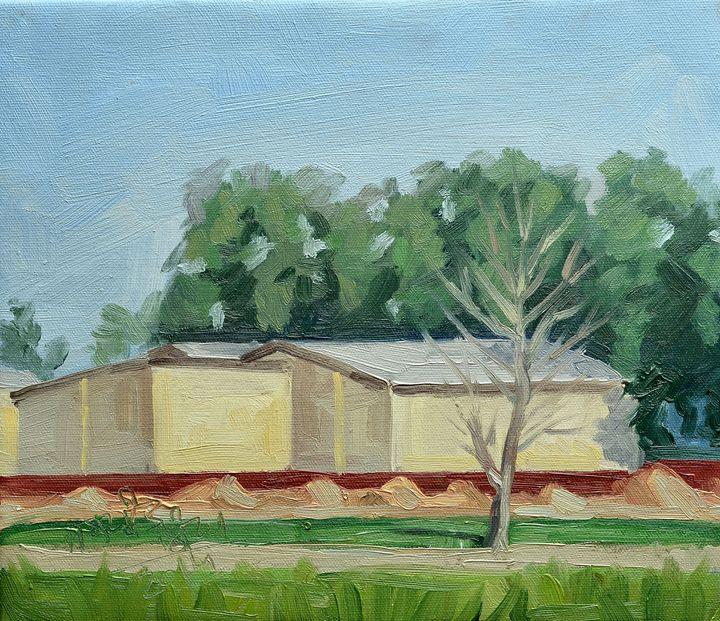 Plein air in oil - Landscap - Jaspreet Singh Art