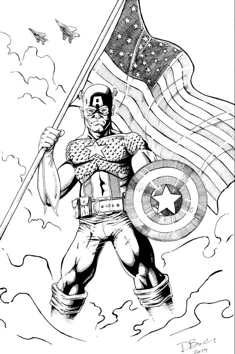 Captain America - Pulse Imagery Comics