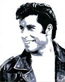 22x28 John Travolta painting