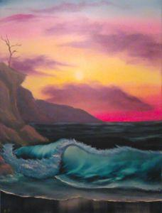 Cliff side seas