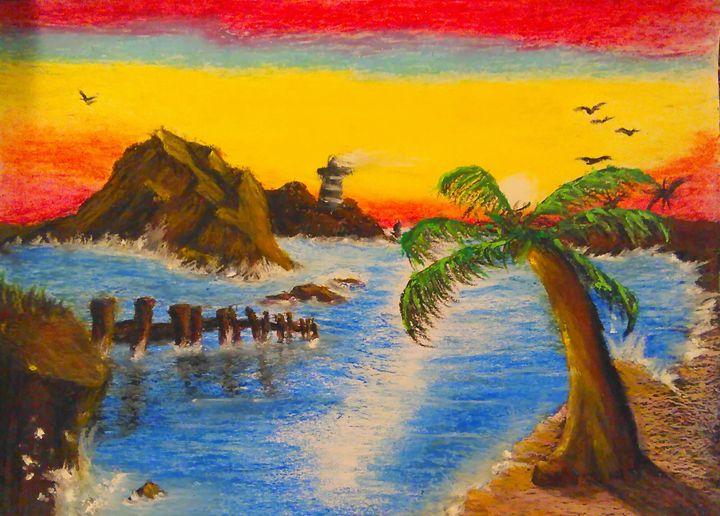 Lighthouse sunrise. - Scott Patti