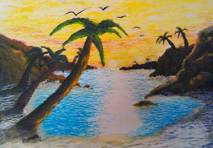 Pastel Beach - Scott Patti