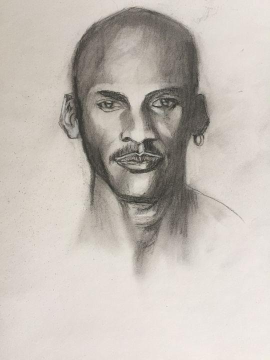 Michael Jordan - WanLewis's drawings