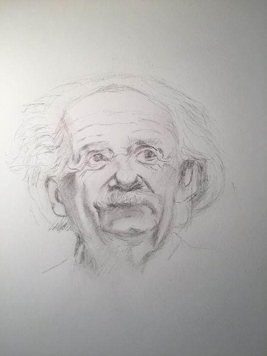 Einstein - WanLewis's drawings