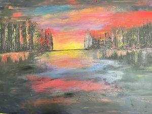 Abstract Sundowner