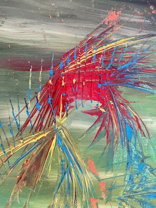 Abstract Spikes - Pat O'Neill