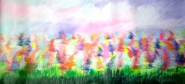 The bright fields - jassiiee's art