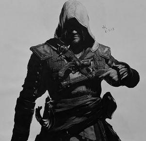 Assassin's Creed Original Drawing