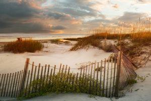 Sunset on the Jekyll Dunes - Stephanie Long