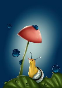 The Snail small world