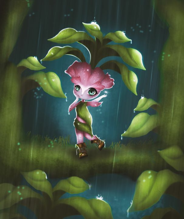 Flower Fairy - Ang3ll Gallery