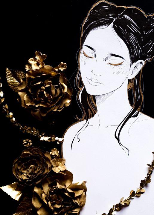 Roses are gold - Rainbuh