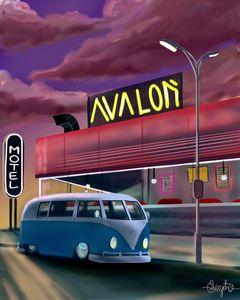 Vintage Retro Van
