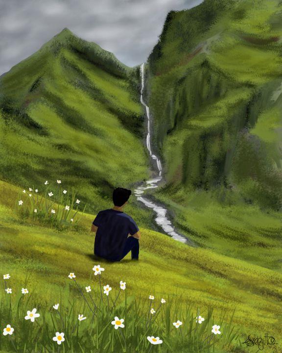 Mountain view - Digital Odyssy