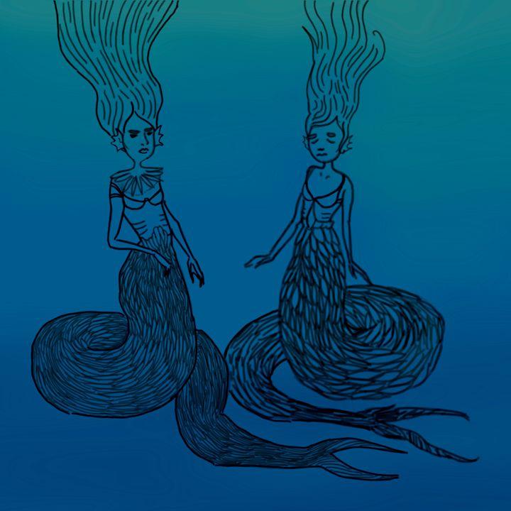 Scowling Mermaids - Arden A.