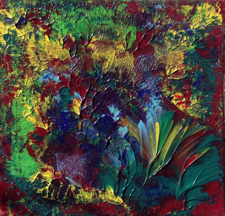 Primeval Forest II - Regis Pineault Abstract Art