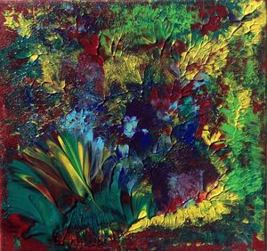 Primeval Forest I - Regis Pineault Abstract Art