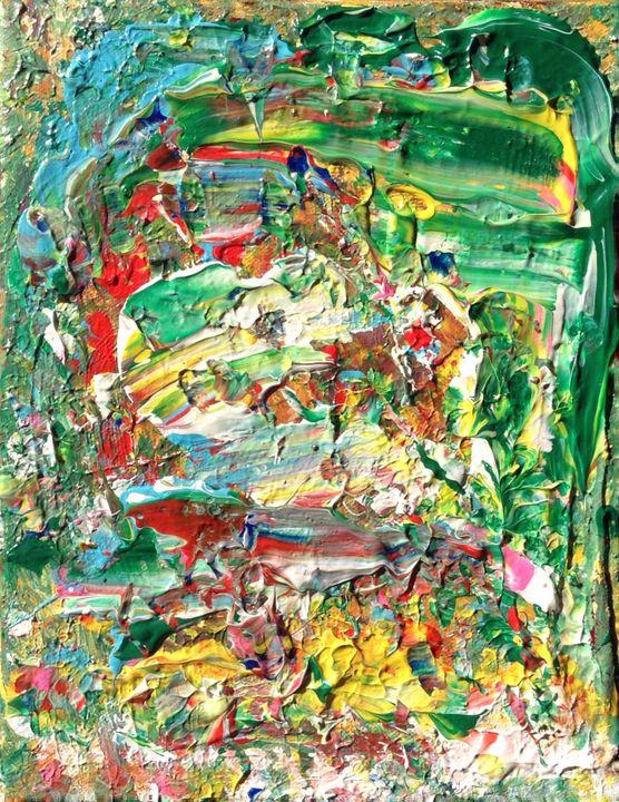 Surrender Control, 24x30 cm - Regis Pineault Abstract Art