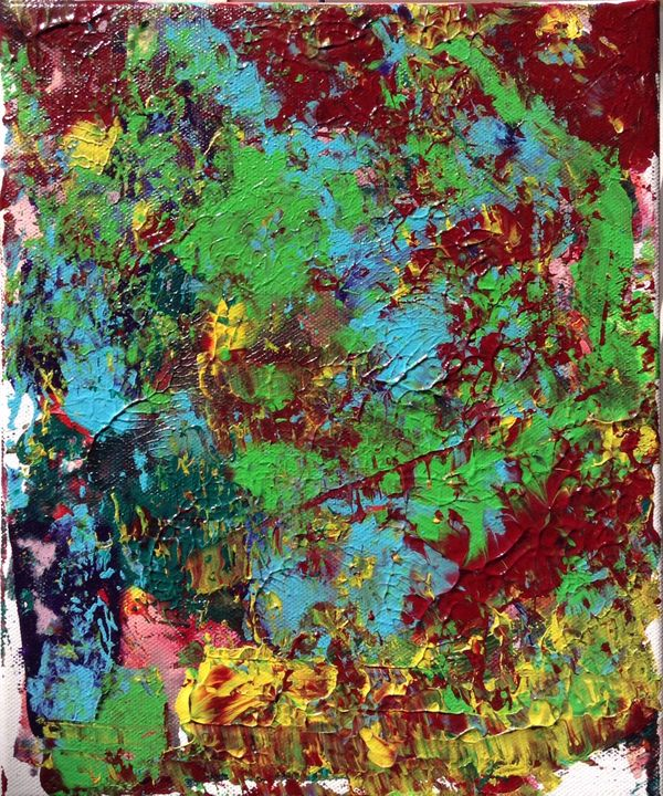 Molecular Regeneration - Regis Pineault Abstract Art