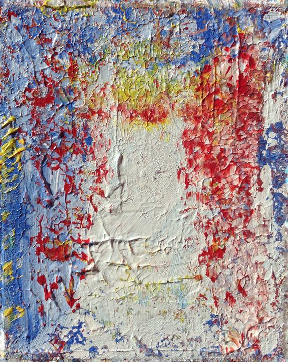 Fenêtre sur le Ciel II - Regis Pineault Abstract Art