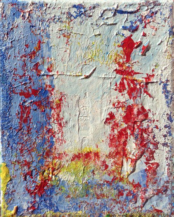Fenêtre sur le ciel I - Regis Pineault Abstract Art
