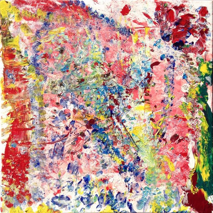 Everything That Rises Must Converge - Regis Pineault Abstract Art
