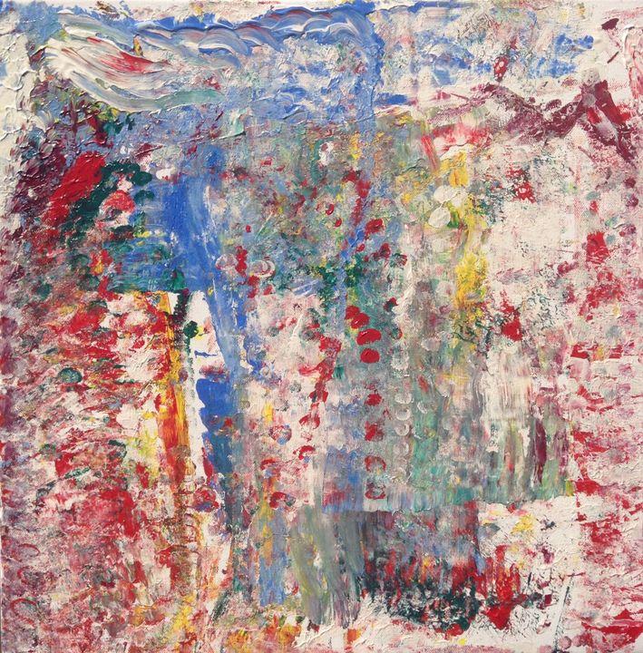 Culmination, 50x50 cm - Regis Pineault Abstract Art