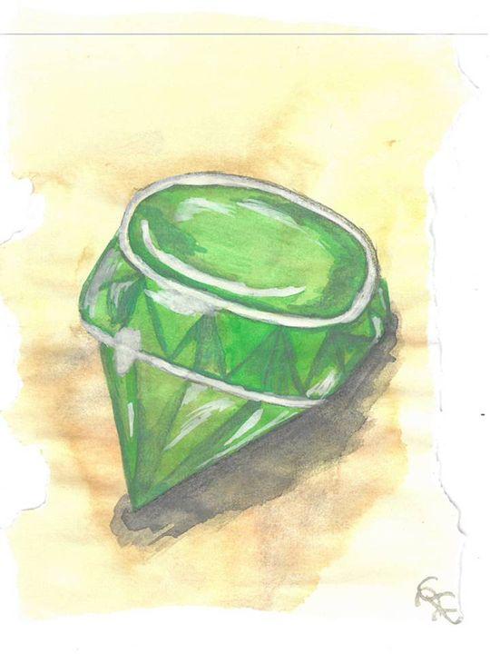 Emerald Birth Stone - Raquel