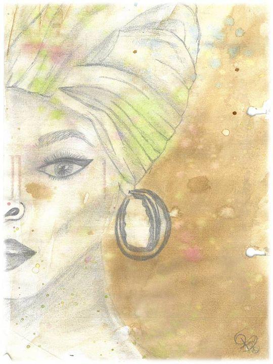 Half an African Woman - Raquel
