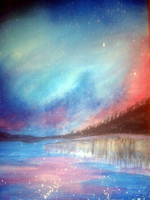 Reflective night sky - Raquel