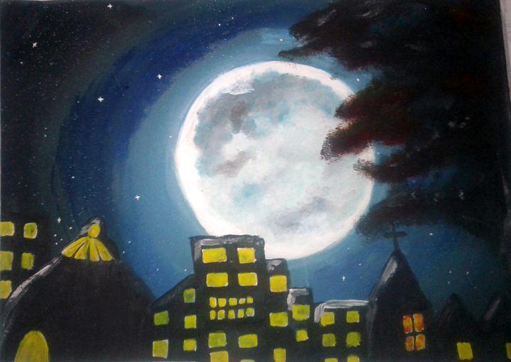 Full moon - Raquel