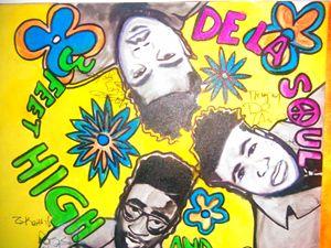 ORIGINAL De La Soul Painting