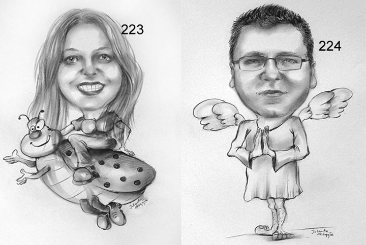 Caricatures - JolantaArt