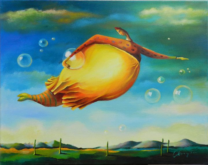 Soap Bubbles - JolantaArt