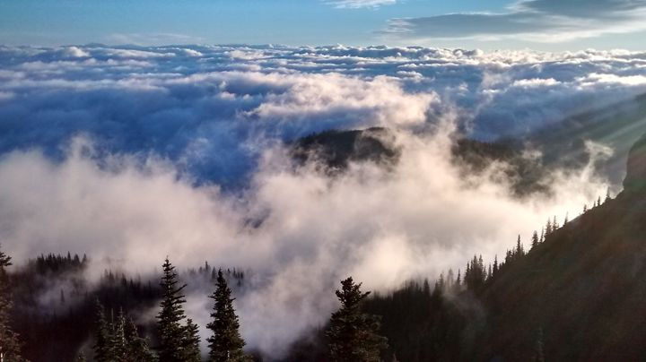 A Blanket of Clouds - Wend Images Gallery