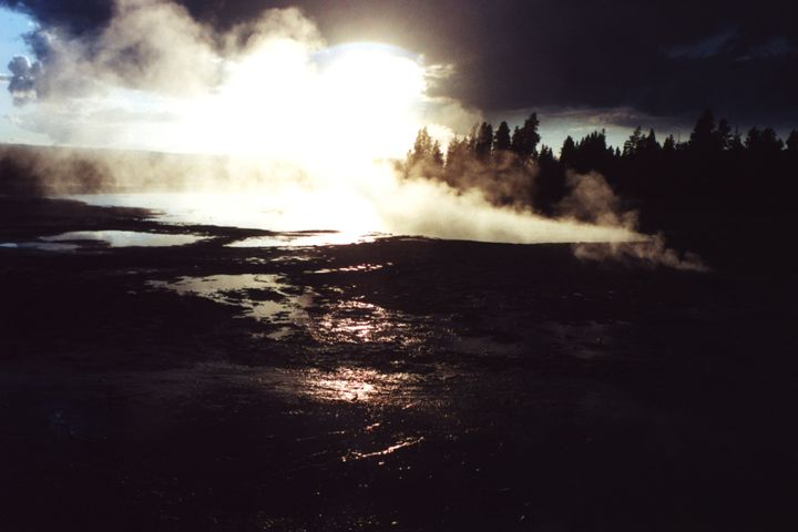Steaming Hot Springs - Wend Images Gallery