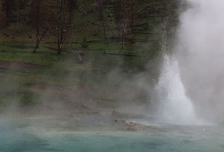 Imperial Geyser, Yellowstone NP - Wend Images Gallery