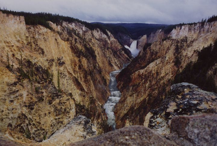 Grand Canyon of the Yellowstone - Wend Images Gallery