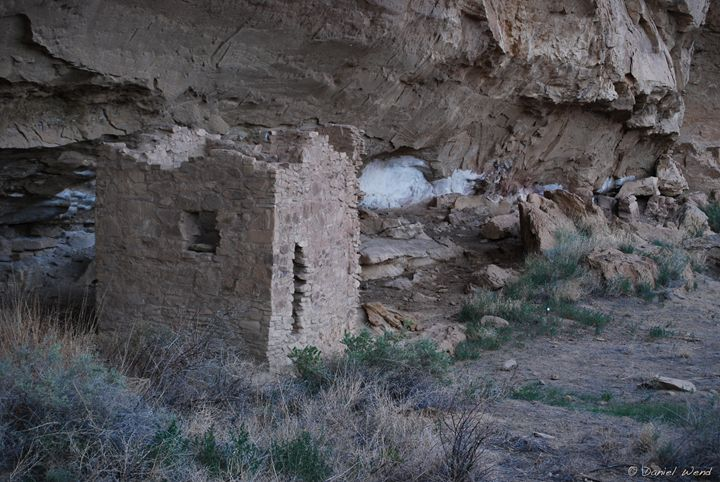 House Ruin in Chaco Canyon - Wend Images Gallery