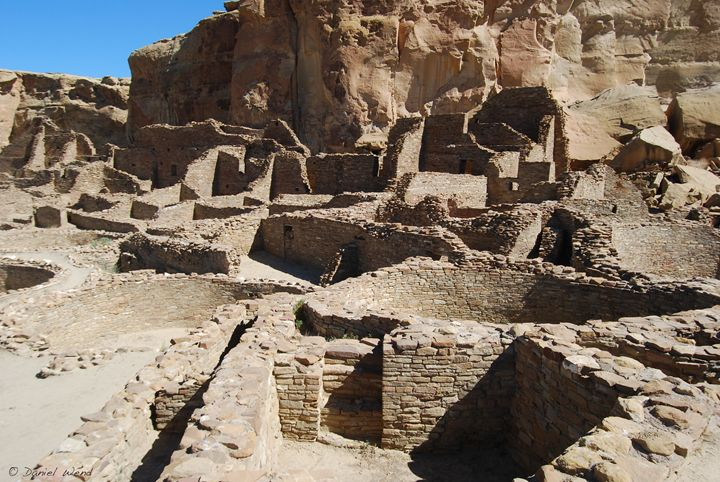 Great House Ruins of Pueblo Bonito - Wend Images Gallery