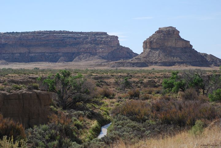 Chaco Canyon Creek - Wend Images Gallery