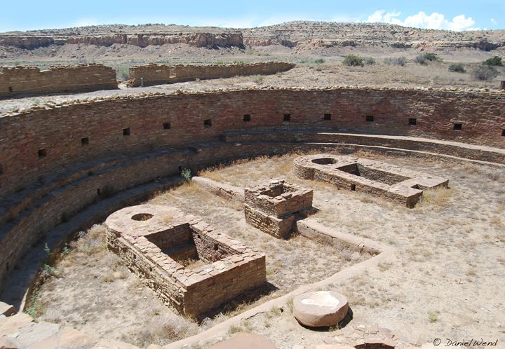 Great Kiva at Chetro Ketl - Wend Images Gallery