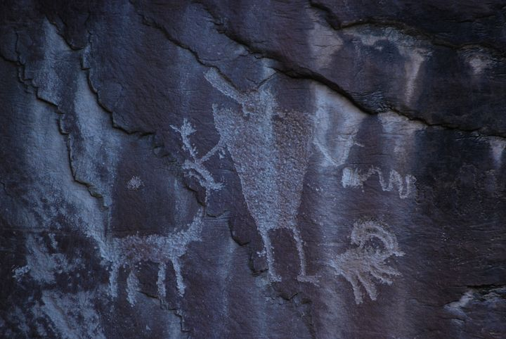 Hunter Petroglyph - Wend Images Gallery