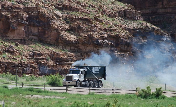 Smoke in the Canyon - Wend Images Gallery
