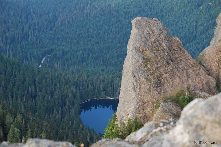 Cora Lake from High Rock - Wend Images Gallery