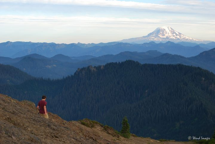 Henry and Mount Adams - Wend Images Gallery