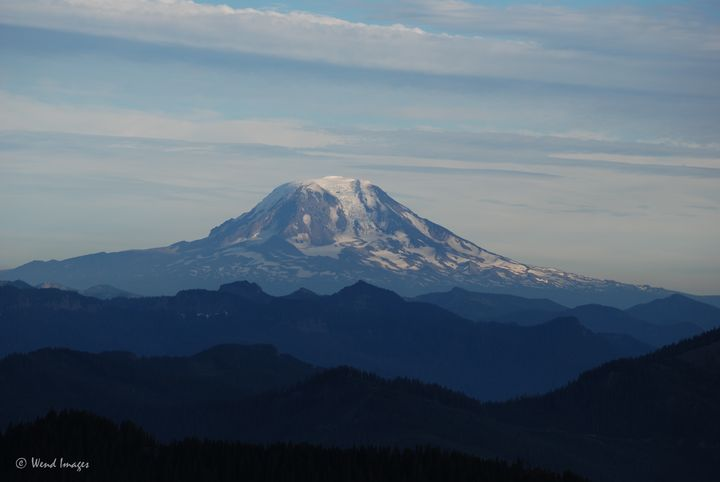 Mount Adams in the Afternoon - Wend Images Gallery
