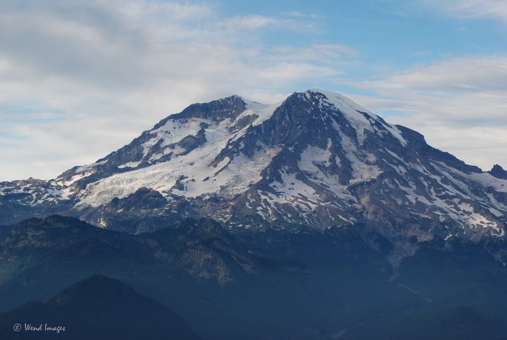 Rugged Southside of Mount Rainier - Wend Images Gallery