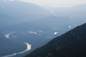 Meanders of the Skagit River